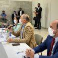 """Como primeiro compromisso na coordenação da Bancada Federal, o deputado Benes Leocádio teve como pauta a questão da venda de ativos da Petrobras. """"Conduzimos os debates dos deputados e senadores, […]"""